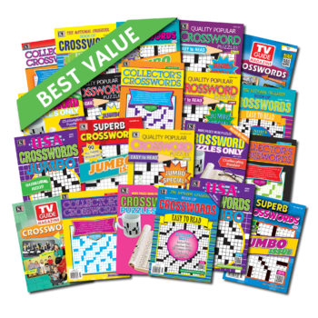 21 Crossword Magazines