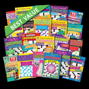 21 Crossword Magazines