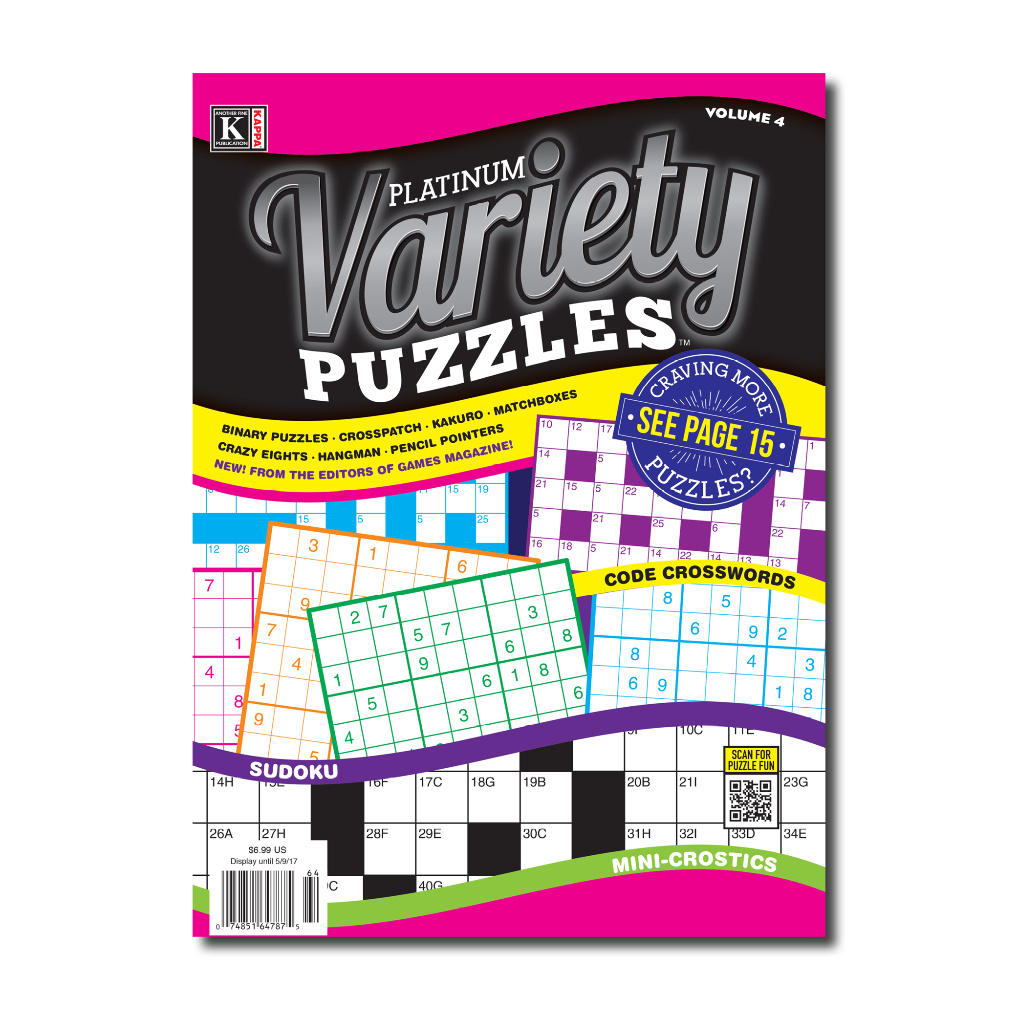 letter after kappa crossword print at home platinum variety puzzles kappa puzzles 22761 | PLVcover