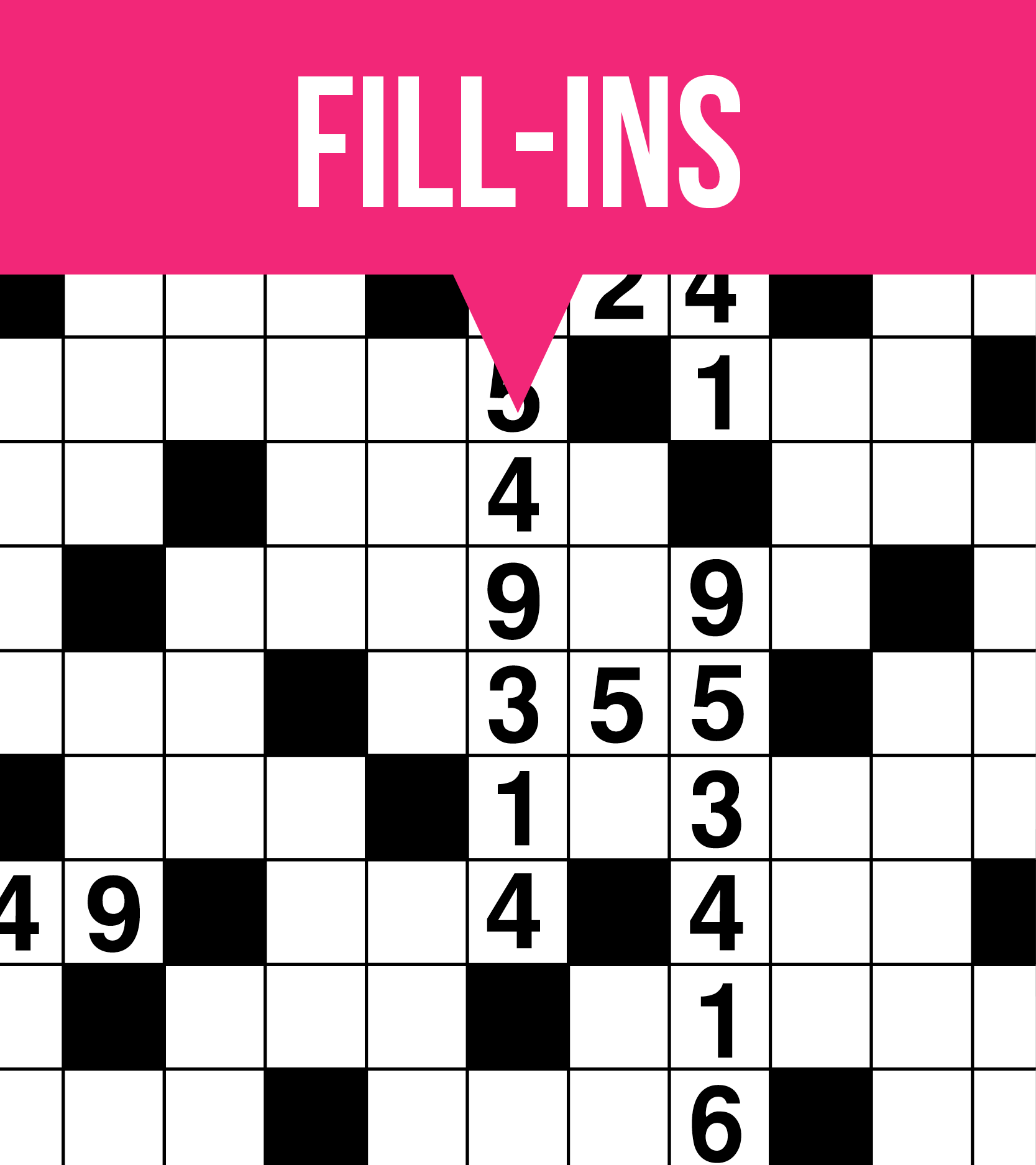 This is an image of Free Printable Fill in Puzzles throughout easy