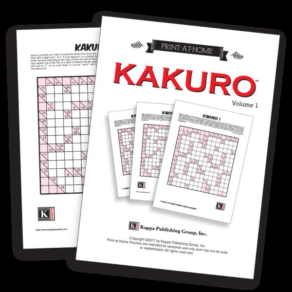 Print-at-Home Kakuro