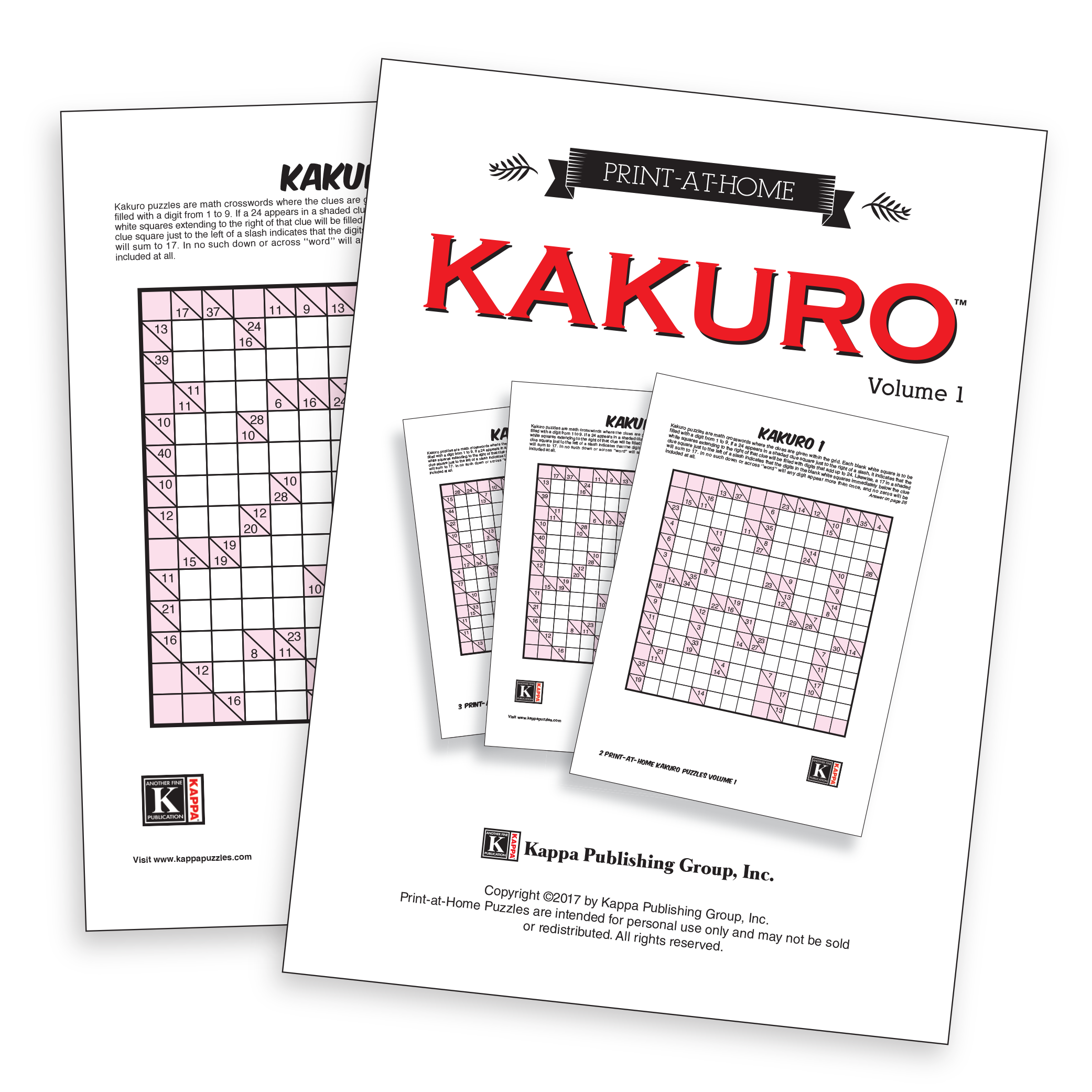 Print At Home Puzzles Kappa Logic Diagram Crossword Clue Kakuro