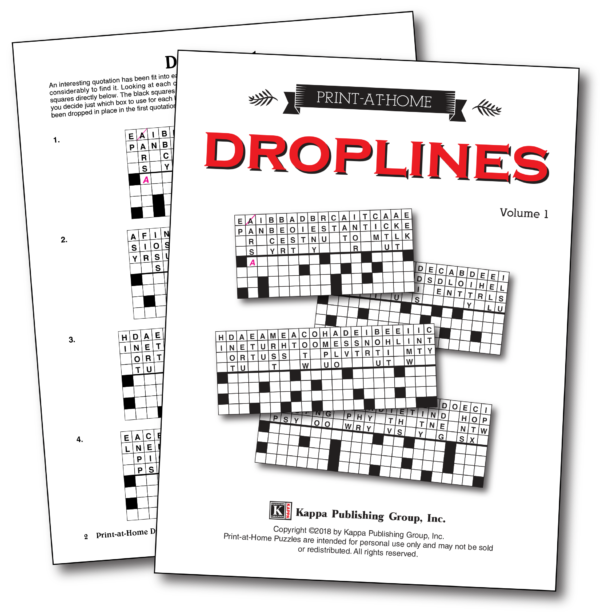 Print-at-Home Droplines