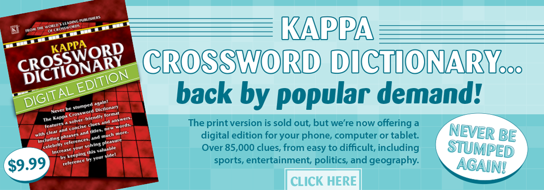 Crosswords Kappa Puzzles