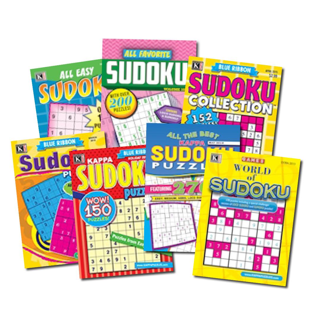 a8bc4a5e4e 7 Sudoku Magazines