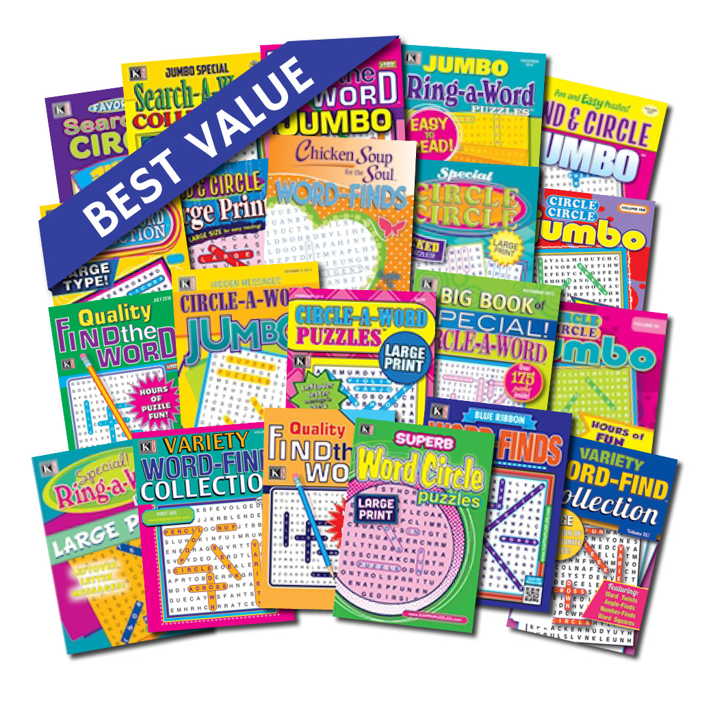 58d8b2cfdf 21 Word Search Magazines