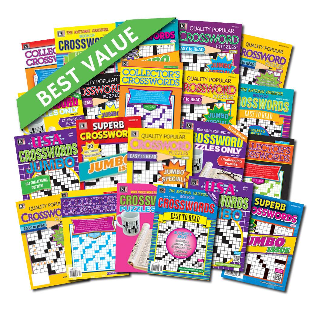 85b398cf4e 21 Crossword Magazines